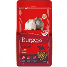 BURGESS RAT NUGGETS 1.5KG