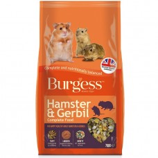 BURGESS HAMSTER AND GERBIL 700G