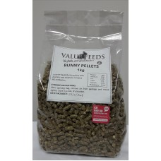 VALUE FEEDS BUNNY PELLETS 1KG