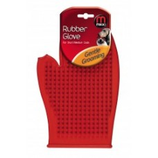 RUBBER GROOMING GLOVE