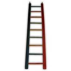 BUDGIE LADDER 9 STEP ALL WOOD