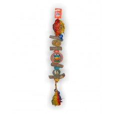 JUNGLE RINGS PARROT TOY