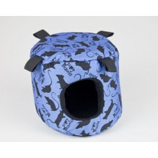 CLASSIC RAT PRINT BARREL BLUE SMALL