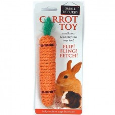 Sharples Sisal Carrot Rabbit Toy