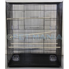 THE RAT/ SMALL ANIMAL PENTHOUSE / BIRD CAGE BLACK