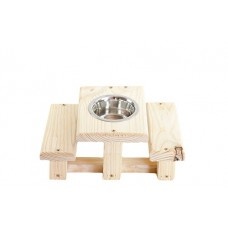 RAT PICNIC TABLE (SINGLE BOWL)