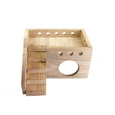 GUINEA PIG PALACE WOODEN