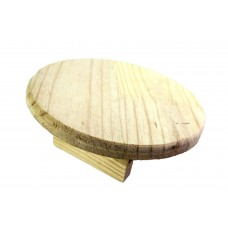 WOODEN FLYING SAUCER